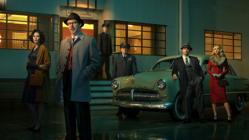 Aidan Gillen and Project Blue Book cast