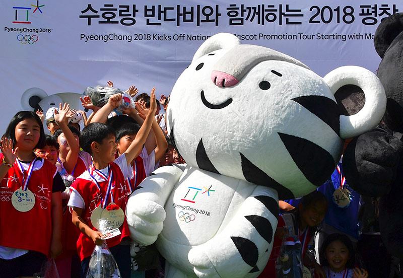 2018 Winter Olympics PyeongChang Soohorang mascot