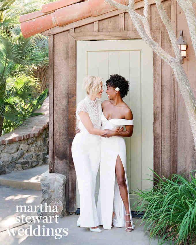 Samira Wiley Lauren Morelli Wedding Martha Stewart