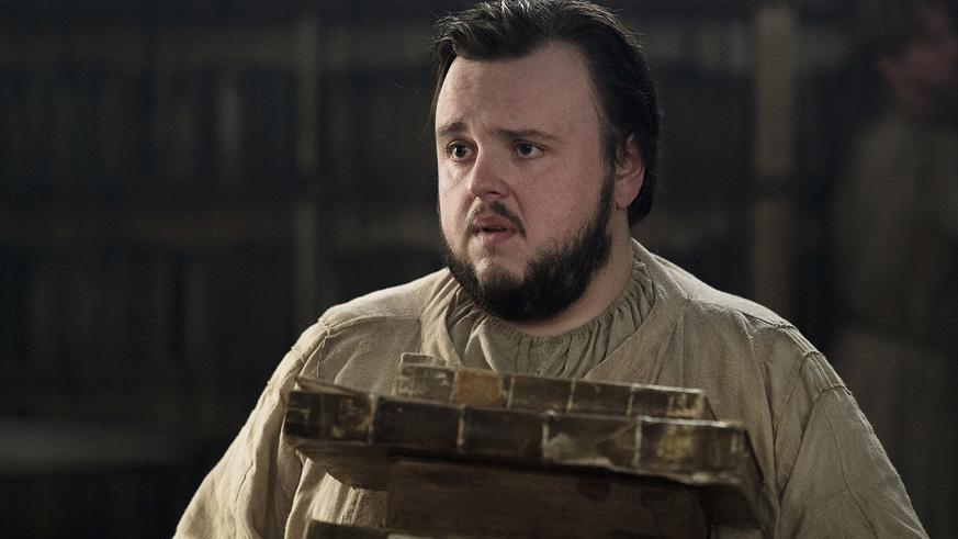 Samwell Tarley Game of Thrones Season 7