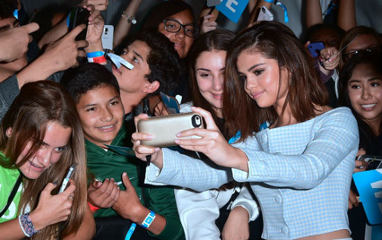 Selena Gomez, the most Instagram followers