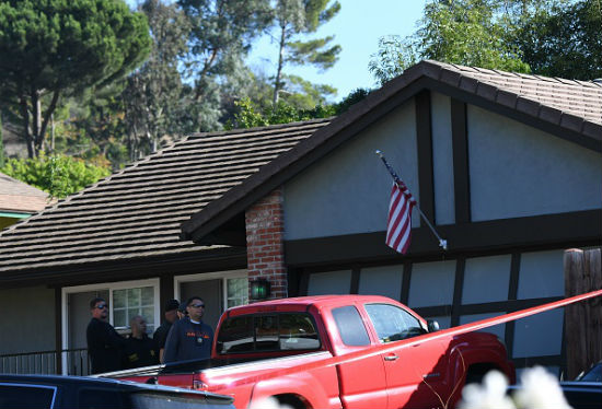 Newbury Park home and truck belonging to Cali shooter Ian David Long