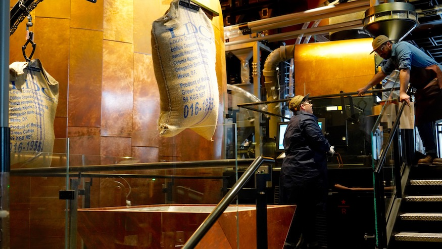 inside starbucks reserve roastery nyc photos everything you need to know