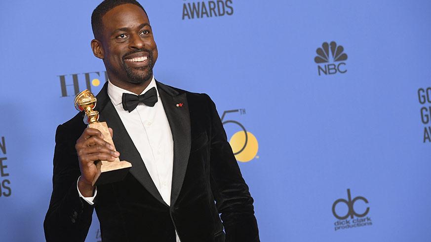 Sterling K. Brown, Golden Globes 2018