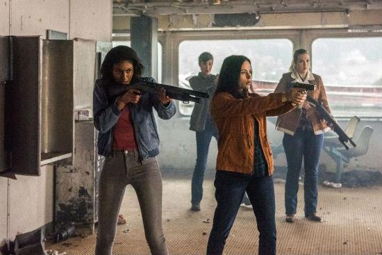 Supernatural Spinoff Wayward Sisters Standoff