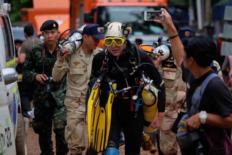 Thailand rescue mission divers
