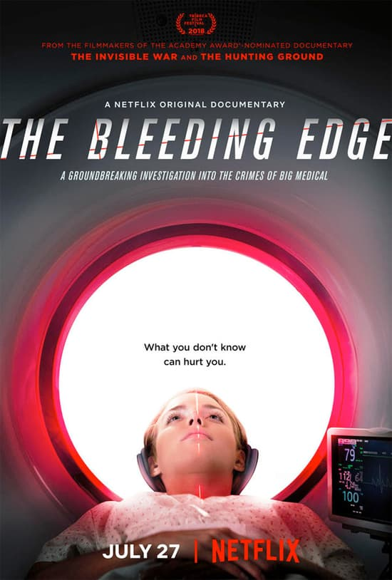 The Bleeding Edge promo poster