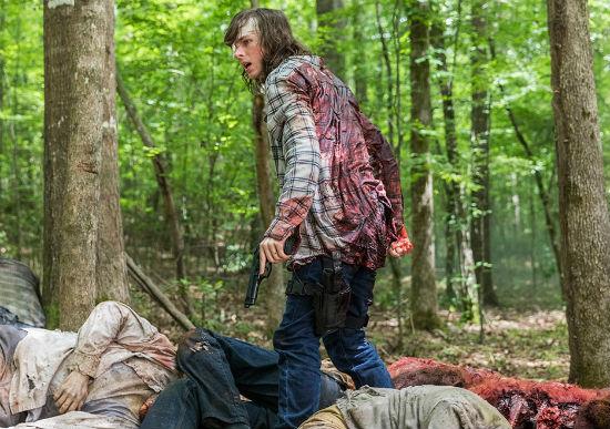 The Walking Dead Midseason Finale Carl Grimes Season 8