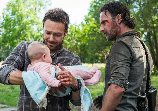The Walking Dead Midseason Finale Aaron Rick Judith Season 8