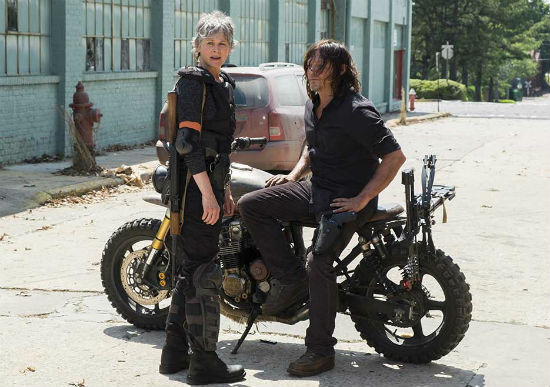 The Walking Dead season 8 episode 1 carol daryl