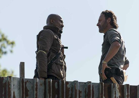 The Walking Dead season 8 episode 1 gabriel rick
