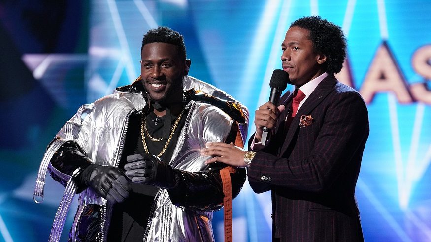 The Masked Singer was revealed to be Antonio Brown