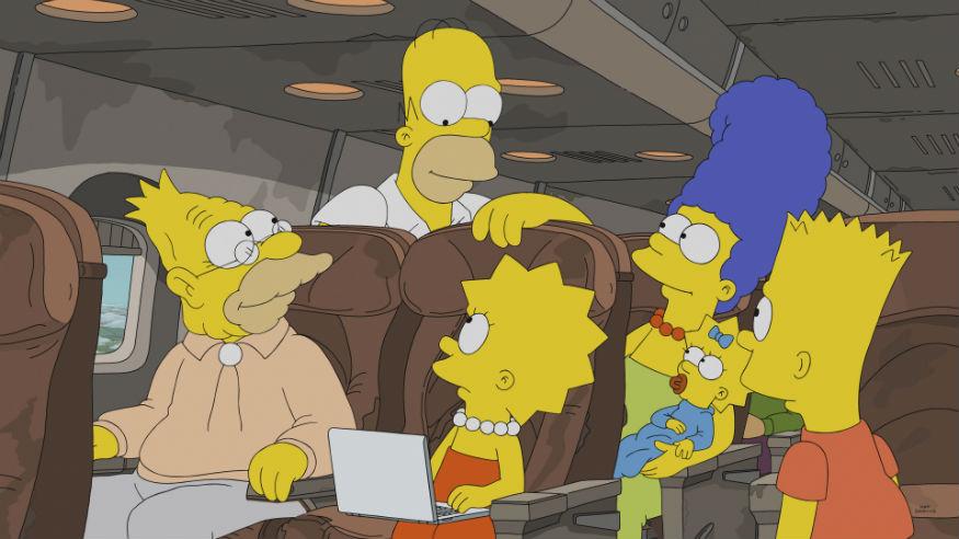 The Simpsons Disney-Fox deal