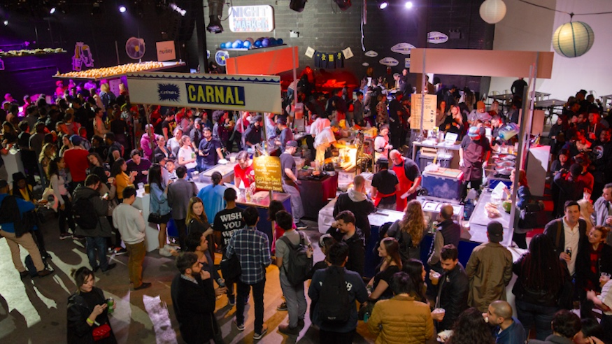 things to do in nyc smorgasburg night market