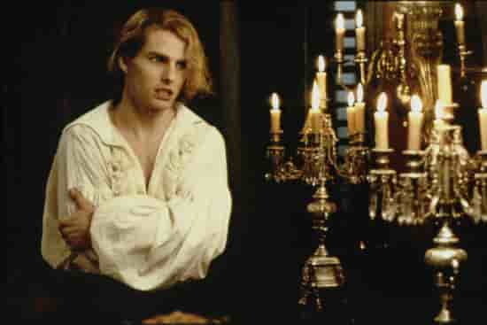 Tom Cruise as Lestat in Interview With a Vampire