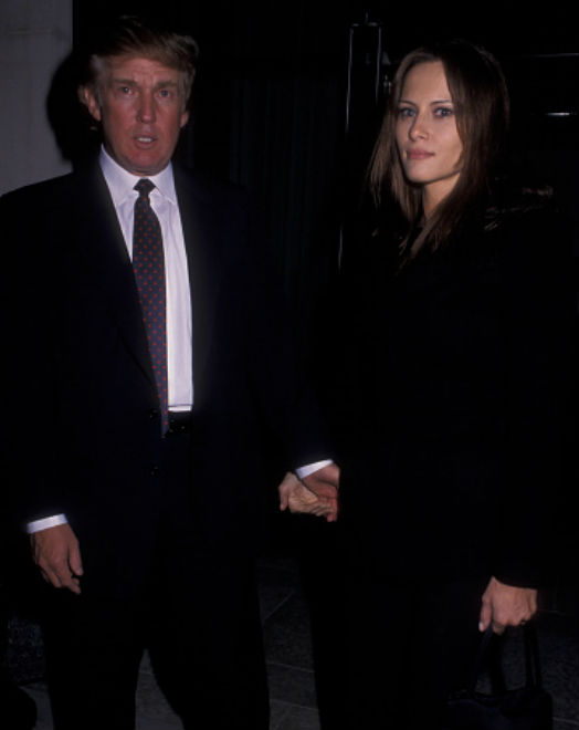 Melania broke up with Trump shortly after they started dating in 1998