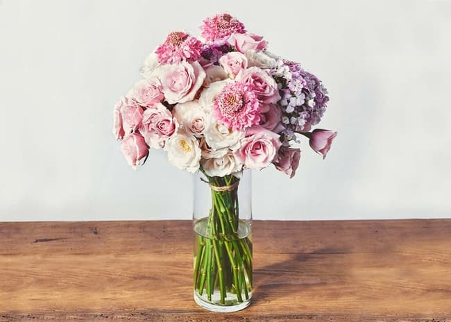 UrbanStems the Pink Champagne bouquet