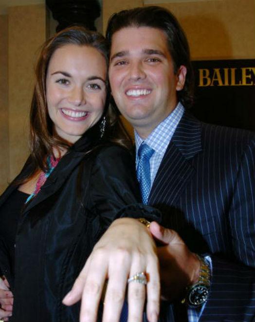 Vanessa Trump engagment ring