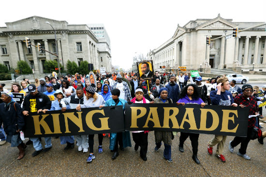What is Closed on Martin Luther King Day parade