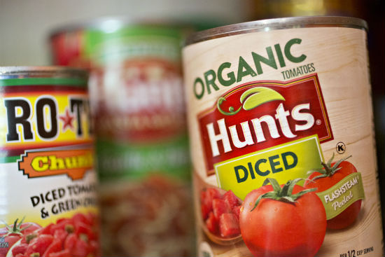 What is Organic Food Canned Tomatoes