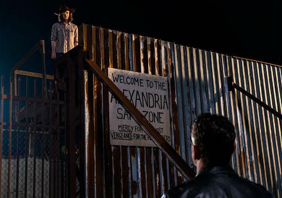 Who Died on The Walking Dead Last Night Carl Negan