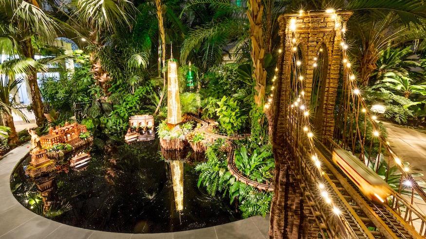 holiday train show 2018 new york botanical garden lower manhattan