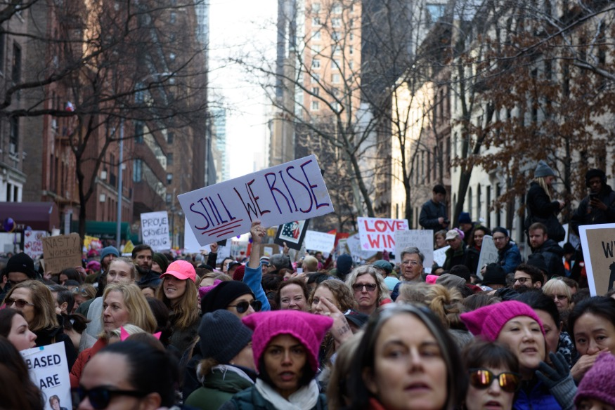 women's march on new york city