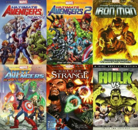 Marvel Animated Movies Deutsch