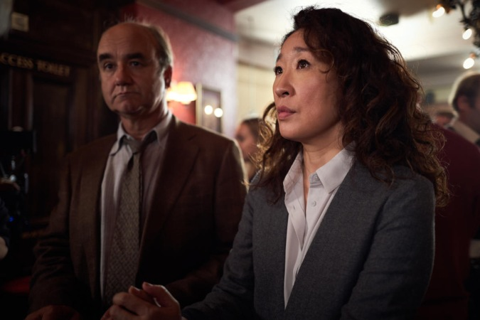 Sandra Oh is nominated for her performance in Killing Eve